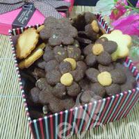 Nhâm nhi bánh quy ngày lạnh